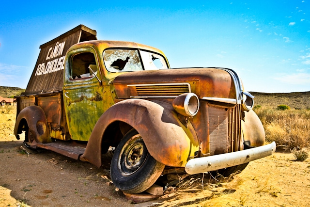 Old Truck, Namibia
