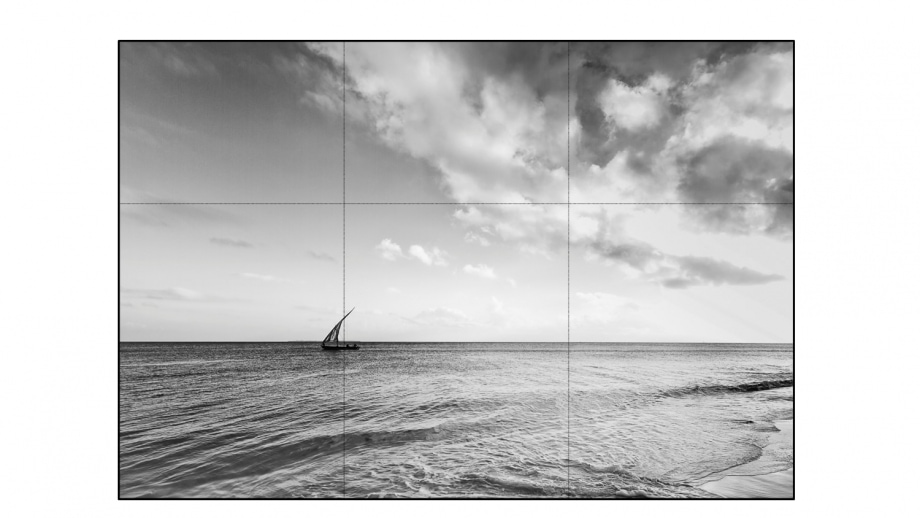 Placing your subject on a two third intersection generally works in composition.