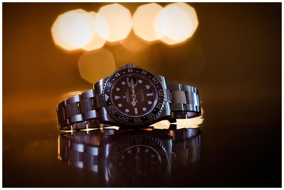 Wedding Detail Shots | Rolex Watch