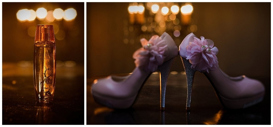 Wedding Details | Shoes and Perfume