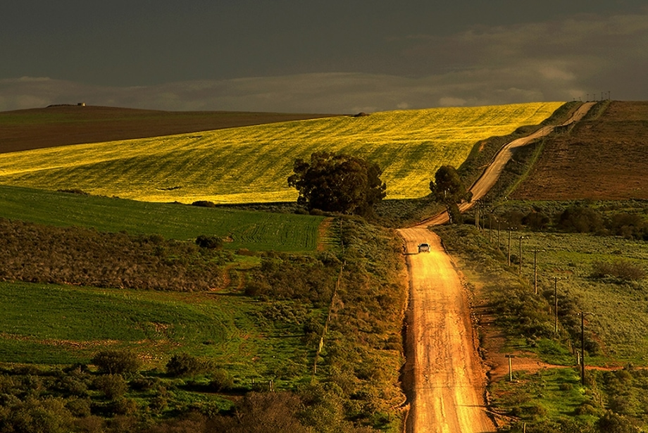 """The backroads of the Overberg"" by Koos Fourie 