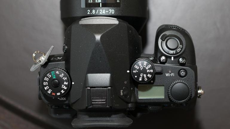 Pentax K-1 Full Frame Top