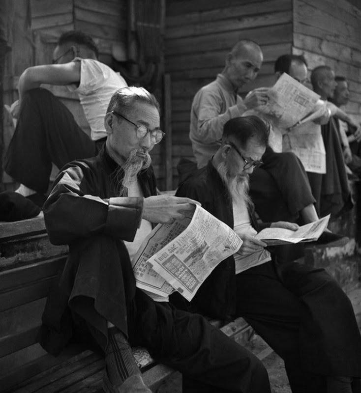 Reading News Fan Ho 1963