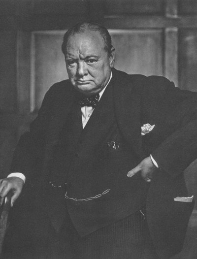 Winston Churchill by Yousuf Karsh, 1941