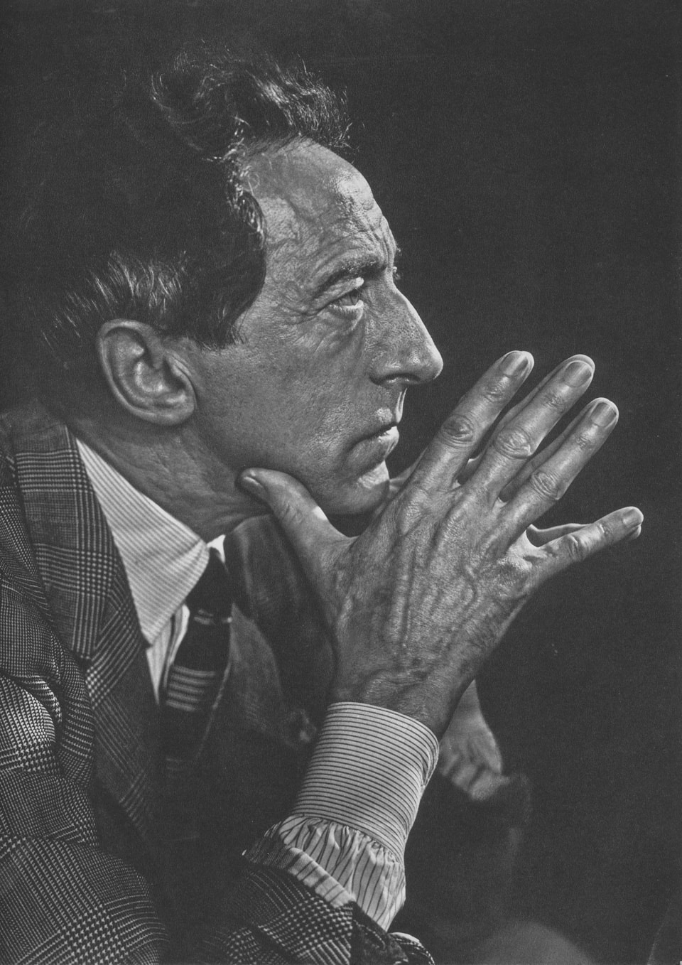 Jean Cocteau by Yousuf Karsh, 1949