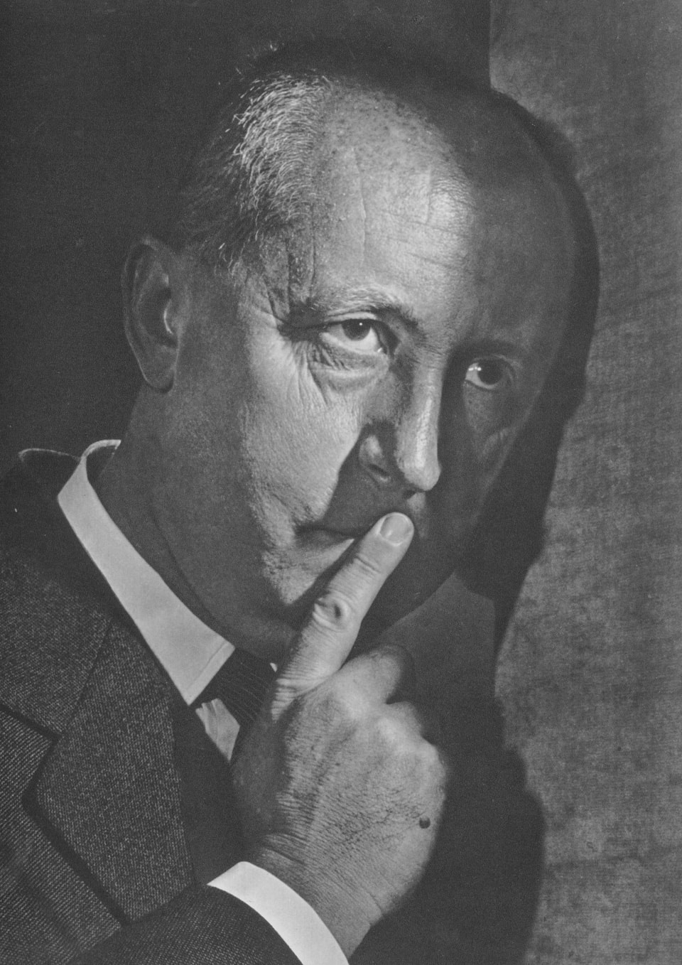 Christian Dior by Yousuf Karsh, 1954