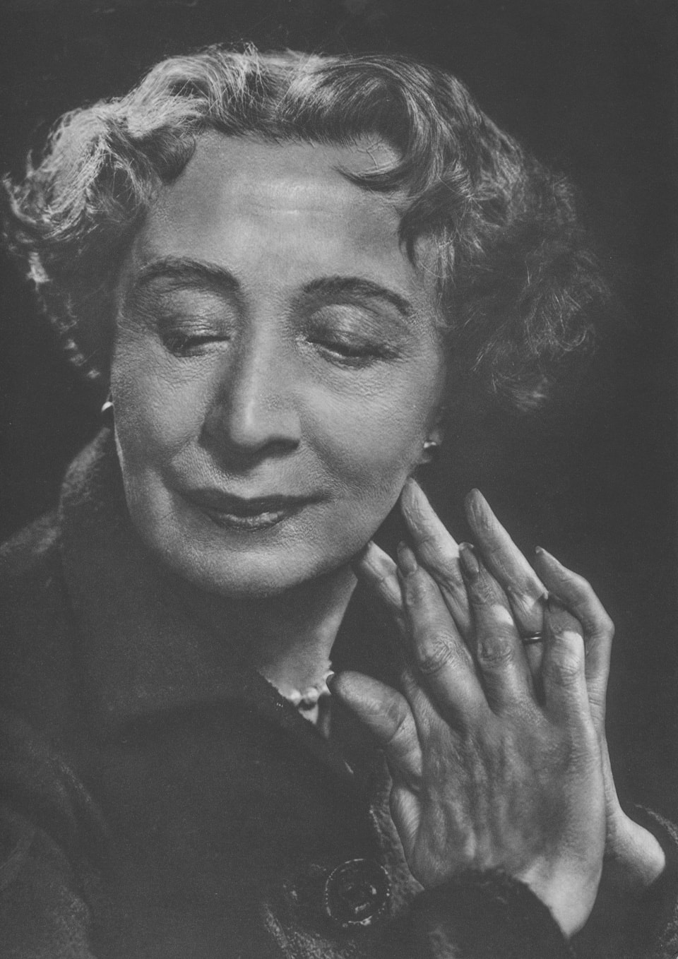 Dame Edith Evans by Yousuf Karsh, 1954