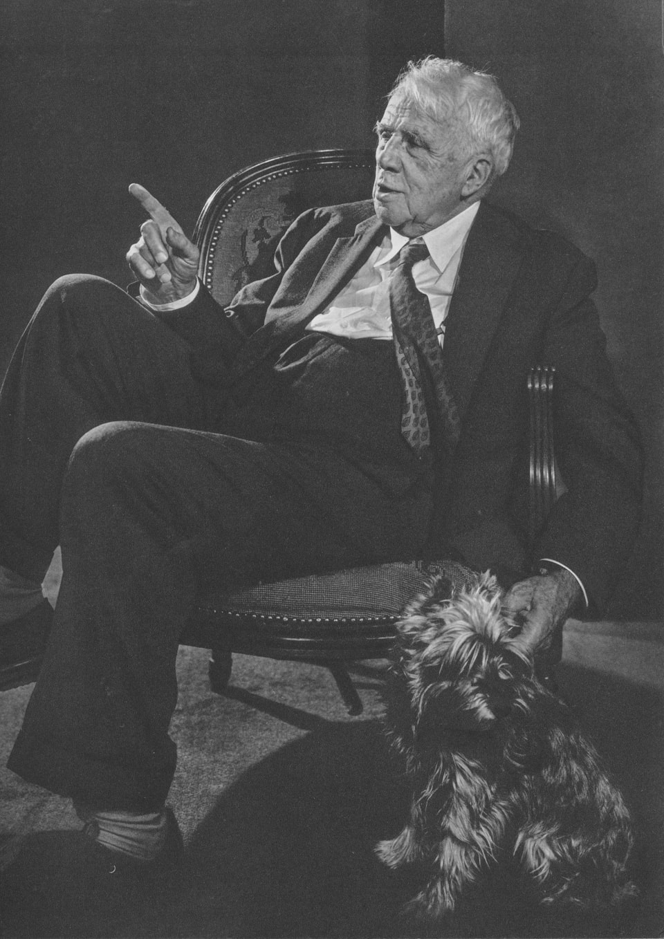 Robert Frost by Yousuf Karsh, 1958