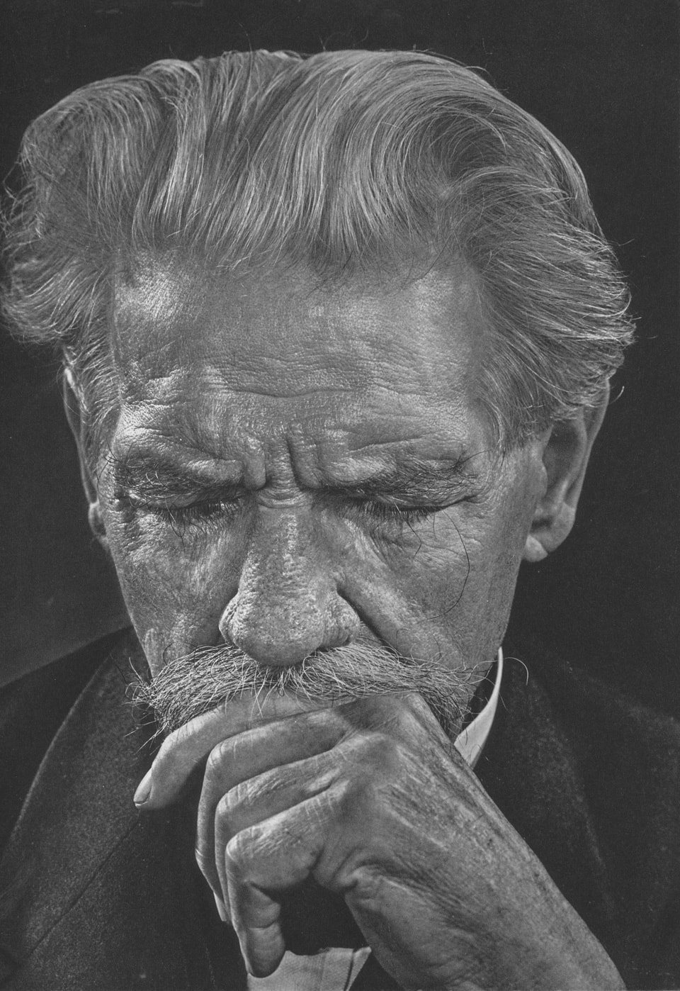 Albert Schweitzer by Yousuf Karsh, 1954