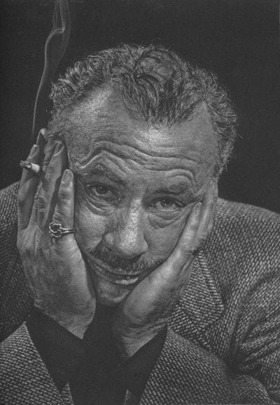 John Ernst Steinbeck by Yousuf Karsh, 1954