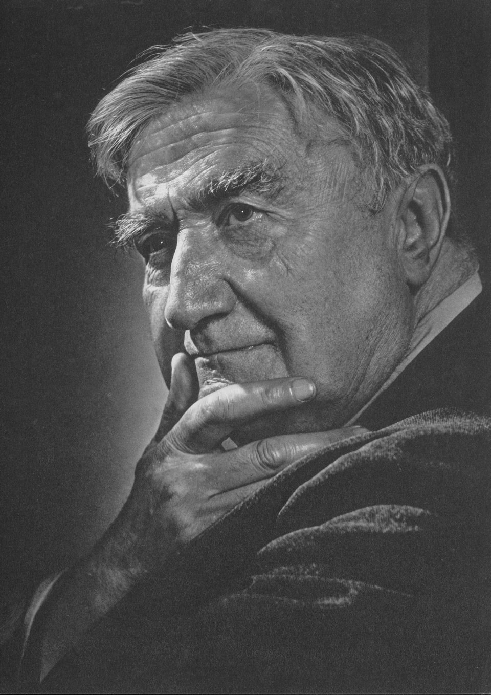 Ralph Vaughan Williams by Yousuf Karsh, 1949