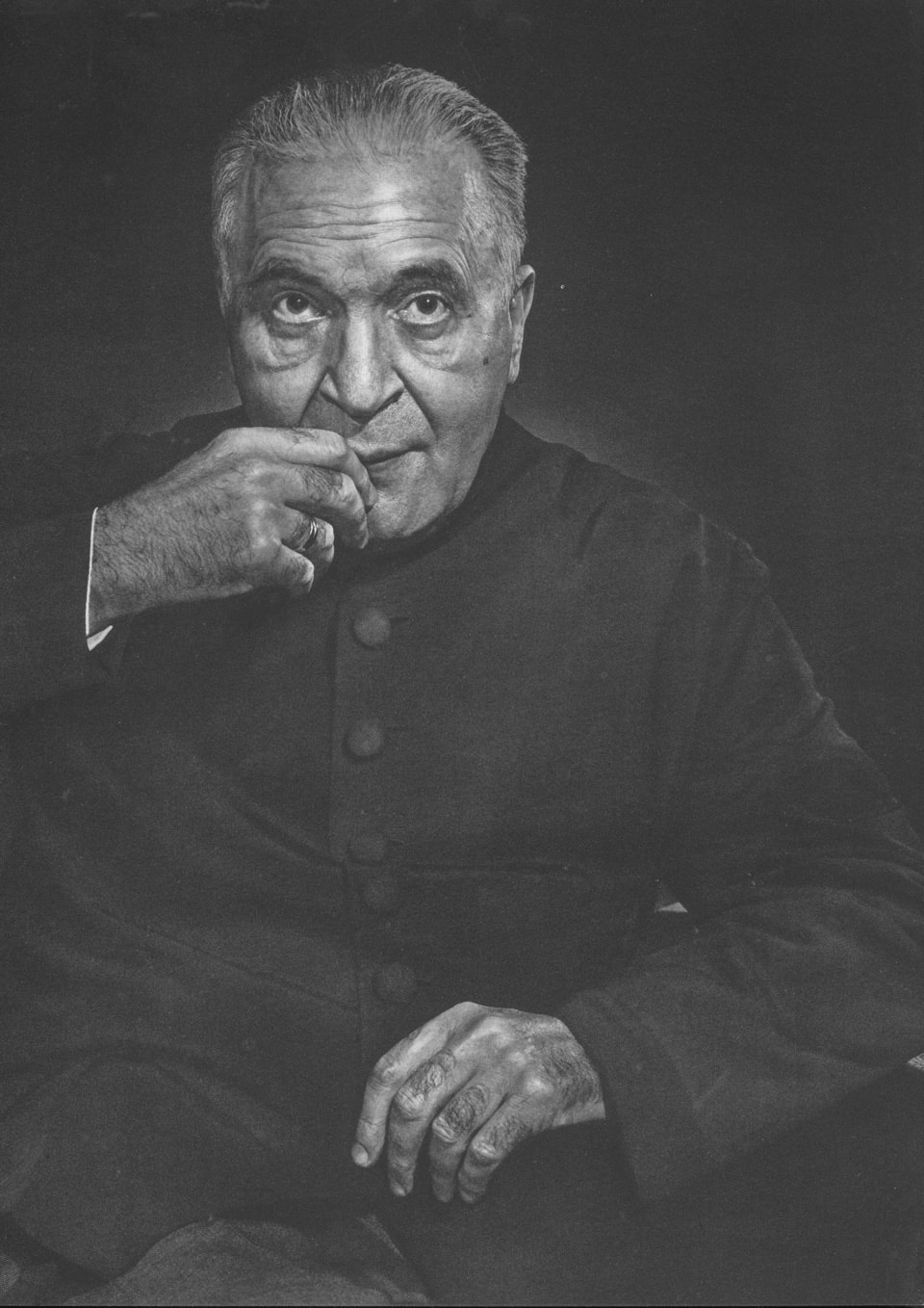 Bruno Walter by Yousuf Karsh, 1956