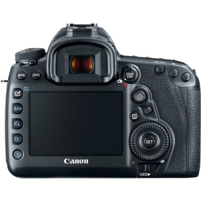 Canon 5D Mark IV Back