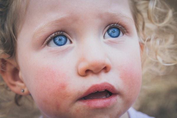 striking portrait of a child