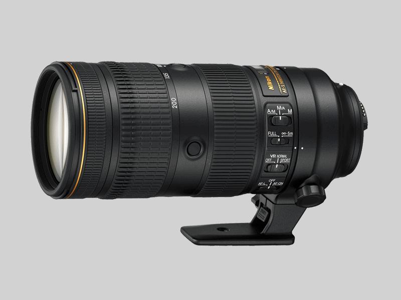 Nikon 70-200mm F2.8E FL ED VR II