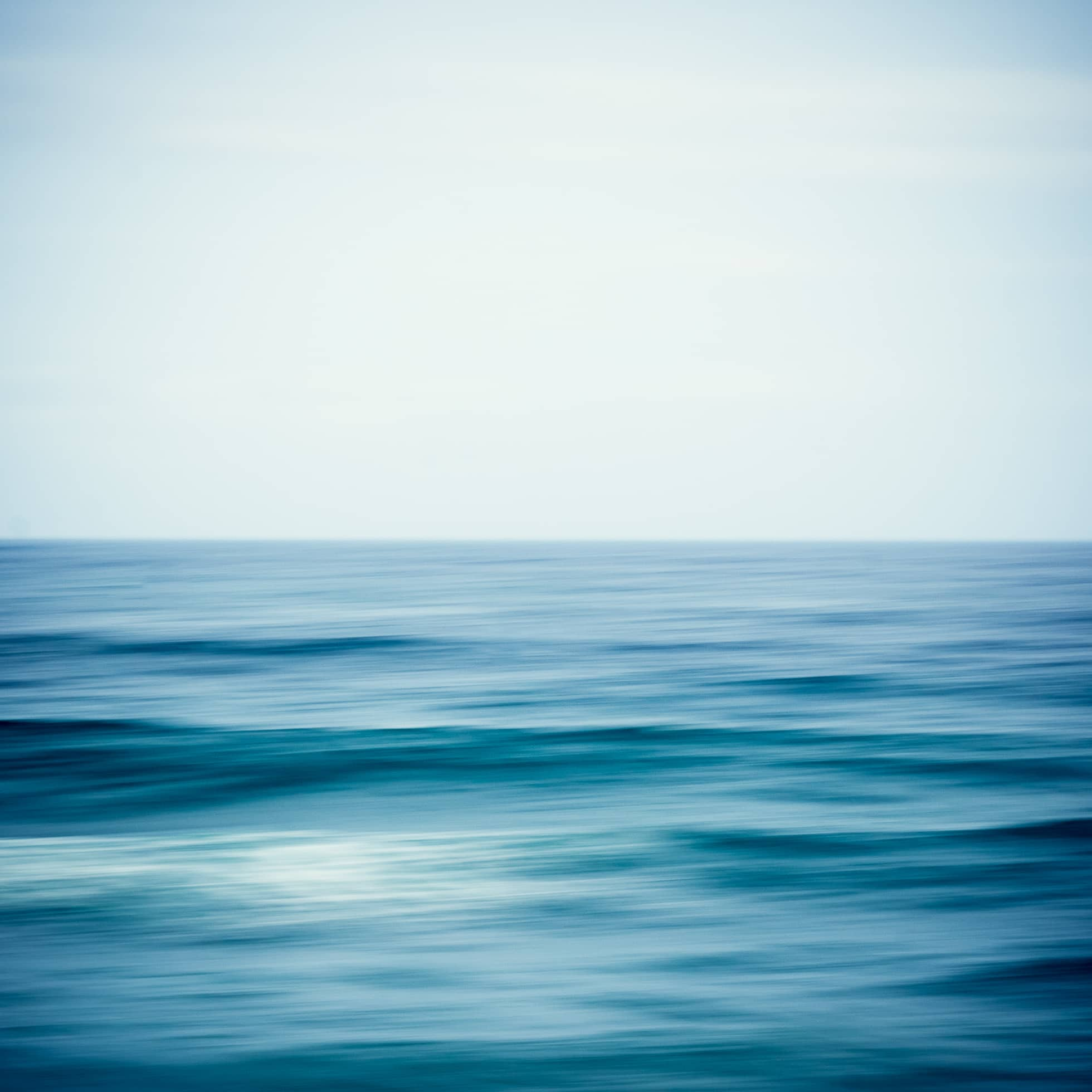 abstract seascape using panning technique by amy mcginley