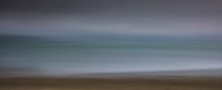 abstract seascape using tripod, filters and a panning technique by luke brouwers