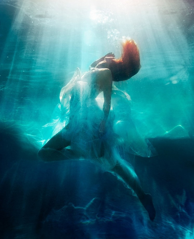 underwater fashion and beauty photo by michael david adams