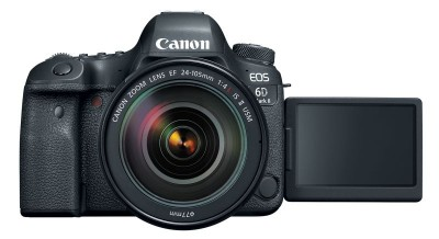 the front of the canon eos 6d mark ii