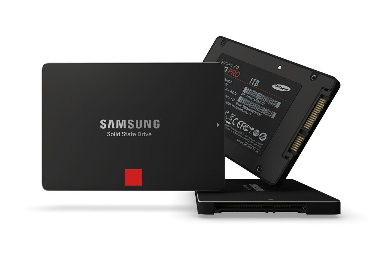 a photo of a samsung solid state drive