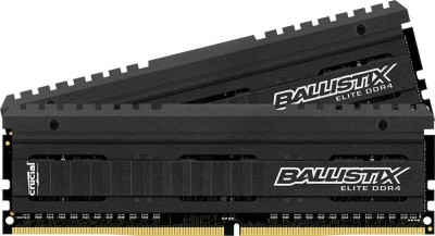 a picture of crucial DDR4 ram modules