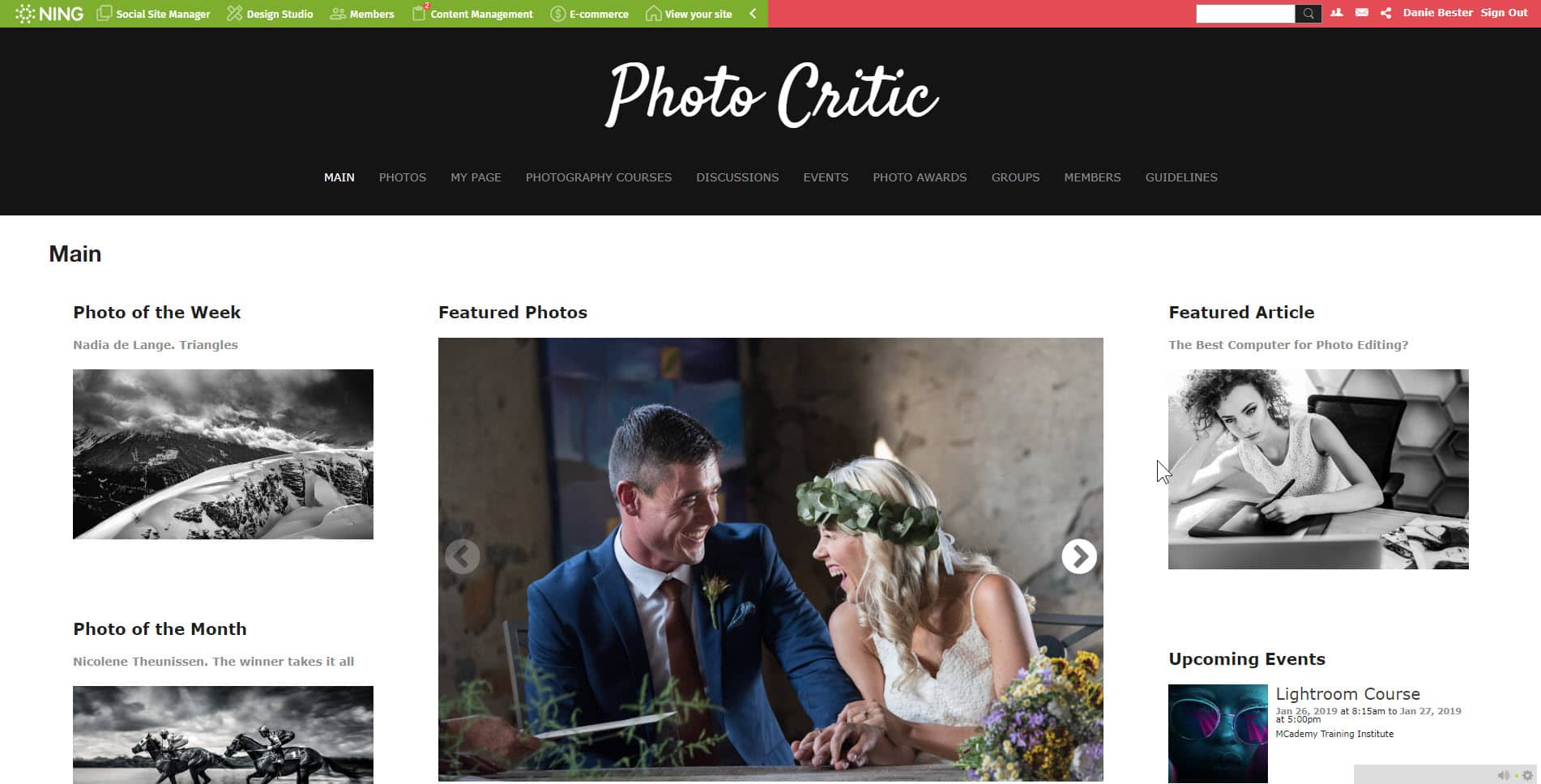 New Photo Critic Website