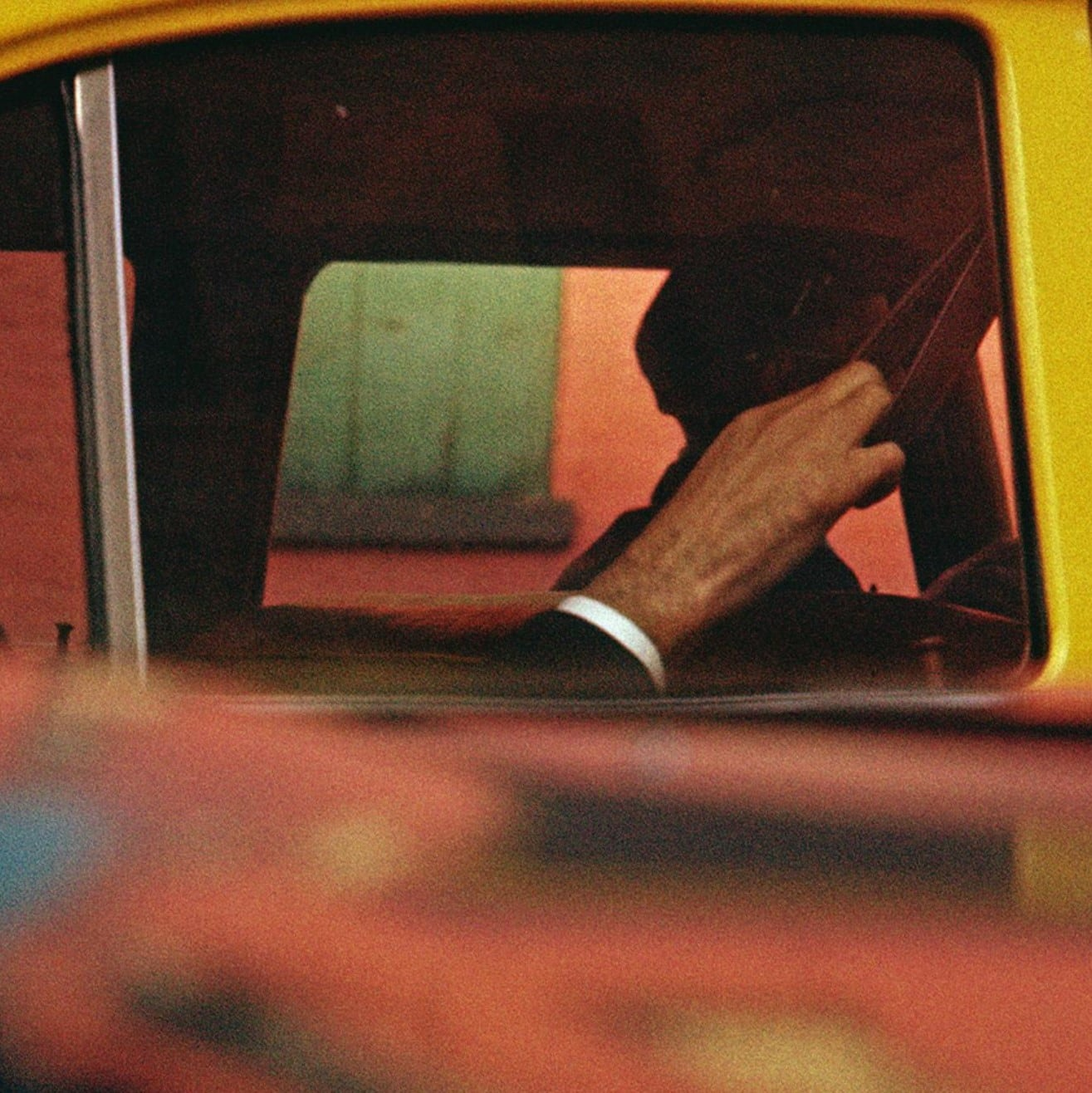 saul leiter, taxi, new york city, circa 1957